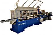 Tulejarka 7 taśmowa z odcinakiem wielonożowym do produkcji tulei papierowych
